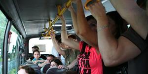 Езда в автобусе