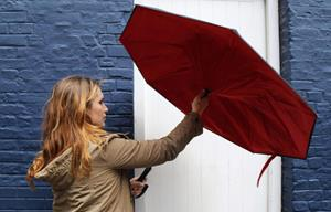 Открытие зонта