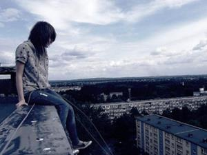 Самоубийство на крыше