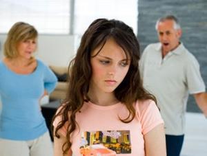 Родители подростка