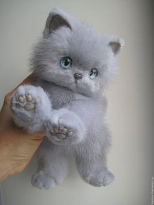 Мягкий котёнок