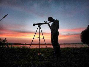 Смотреть в телескоп