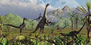 Снятся динозавры
