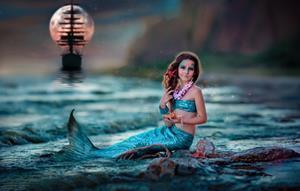 Девочка русалка