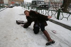 Скользить по льду