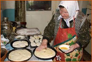 Печь пирожки