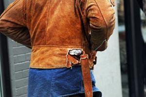 Рваная куртка